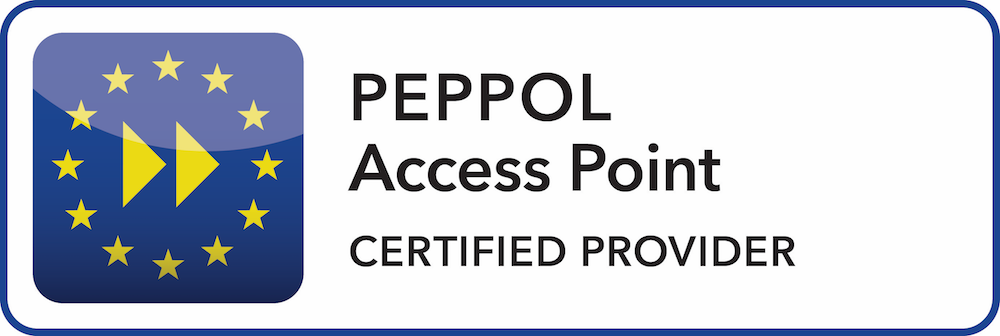 Peppol Access Point certified Provided